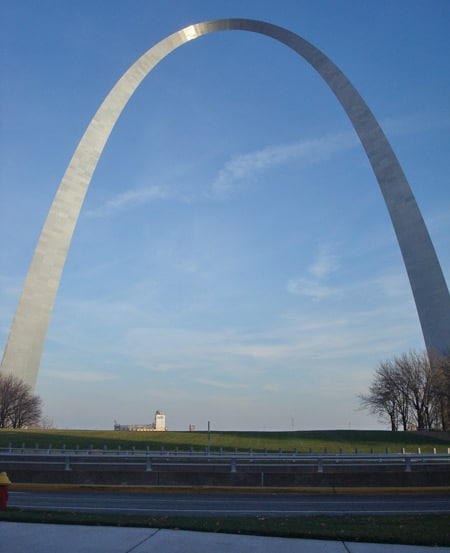 arch st louis ride top