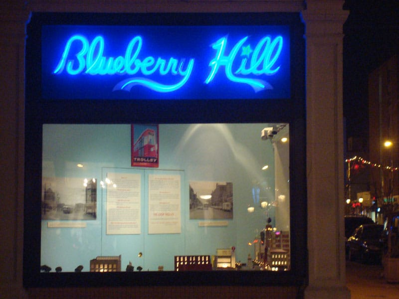 Blueberry Hill St Louis