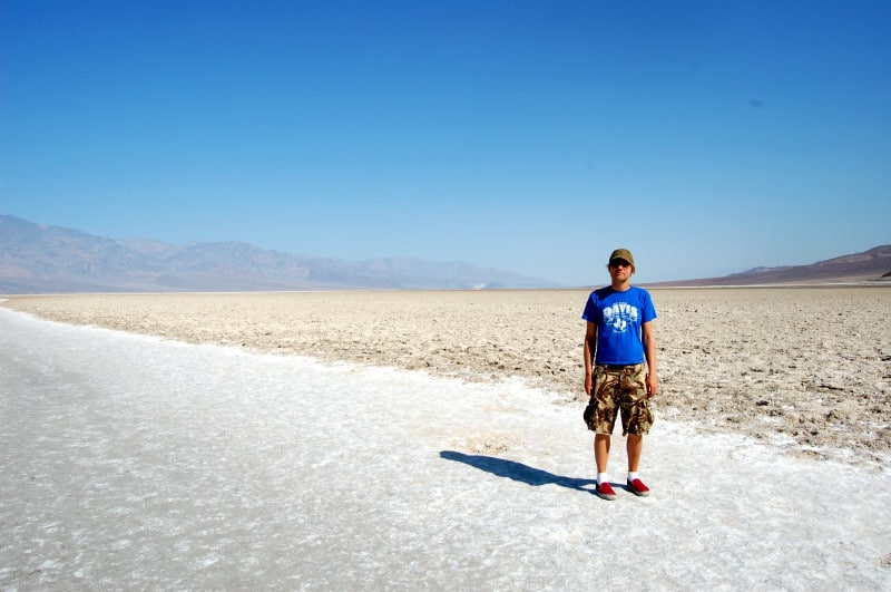 badwater basin temperature