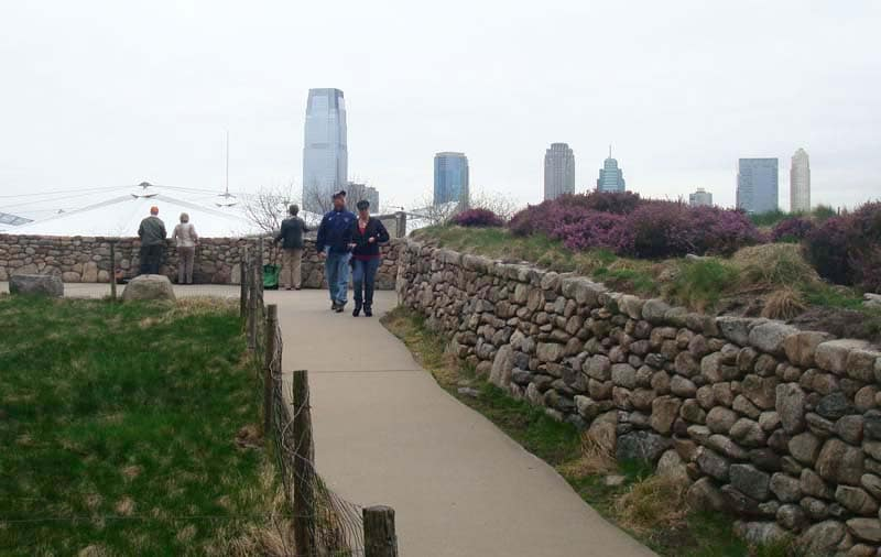 irish hunger memorial - off the beaten path nyc spots