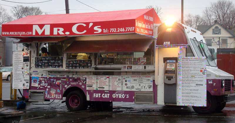 Rutgers grease trucks