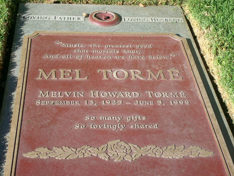 Mel Torme grave westwood cemetery