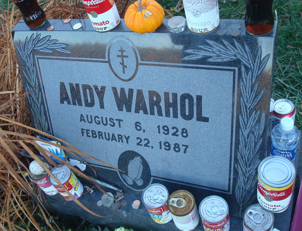 warhol headstone pittsburgh