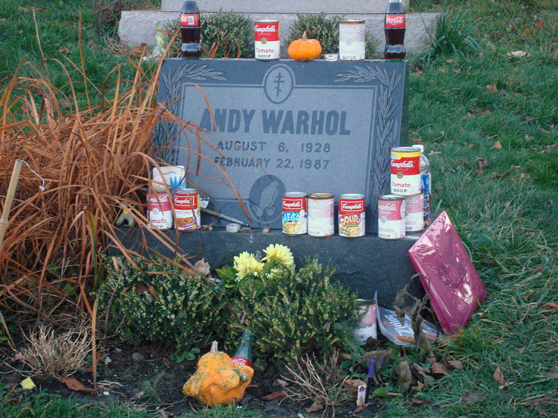 Quirky Attraction: Andy Warhol's Grave