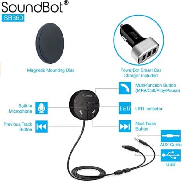 soundbot bluetooth device