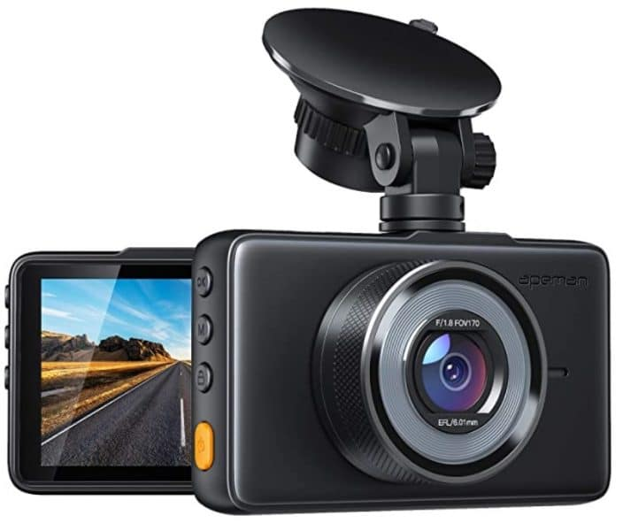 travel dash cam