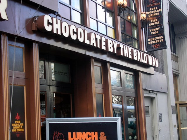 chocolate by the bald man - offbeat secret new york places