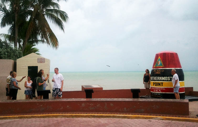 southernmost point tourists