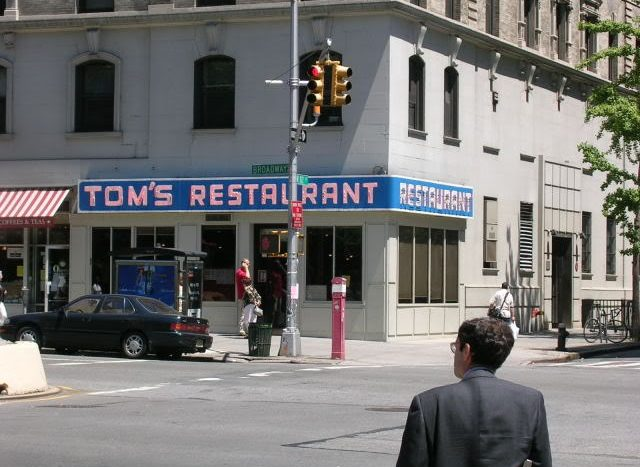 toms diner new york city