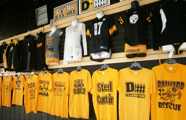 steeler merchandise strip district