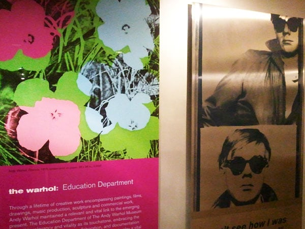 warhol education