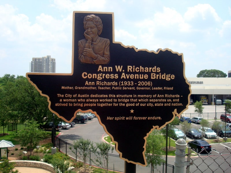 Ann Richards Congress Avenue Bridge