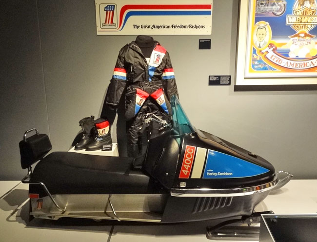 harley snowmobile