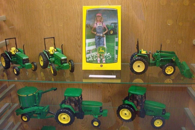 john deere barbie