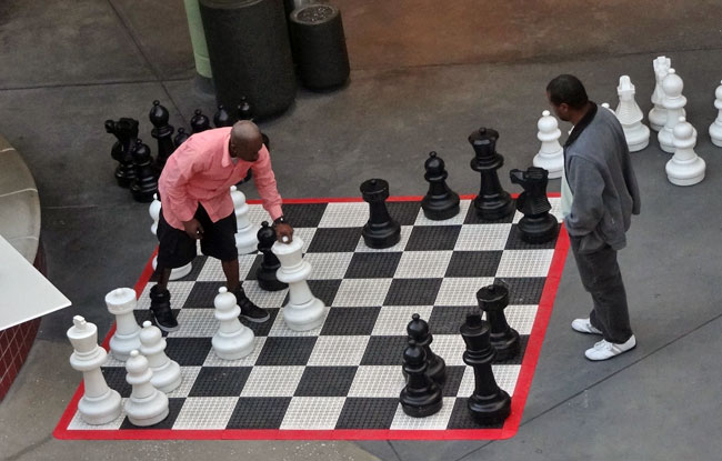 horton plaza giant chess