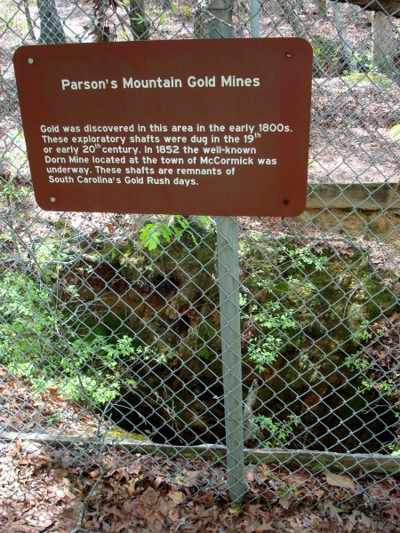 Quirky Attraction: Parson's Gold Mines in Sumter National Forest