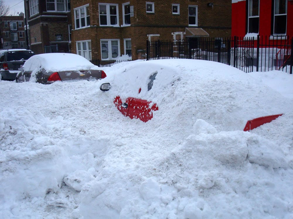 buried cars