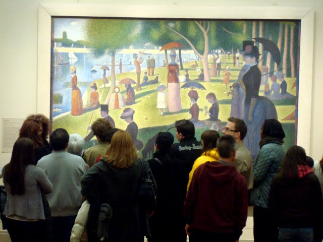seurat sunday painting