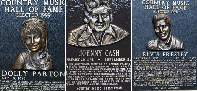 Elvis Presley, Johnny Cash and more at the Country Music Hall of Fame