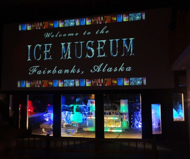 ice museum welcome