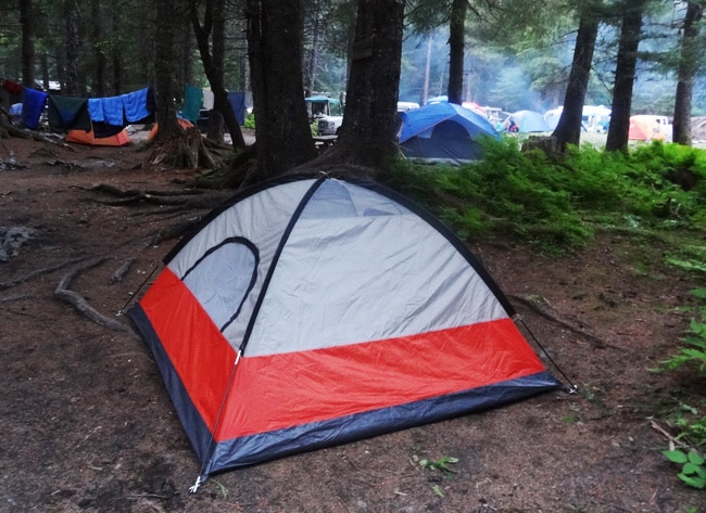 tent campground