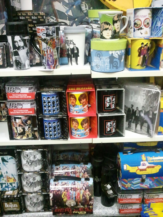 happy days beatles merch