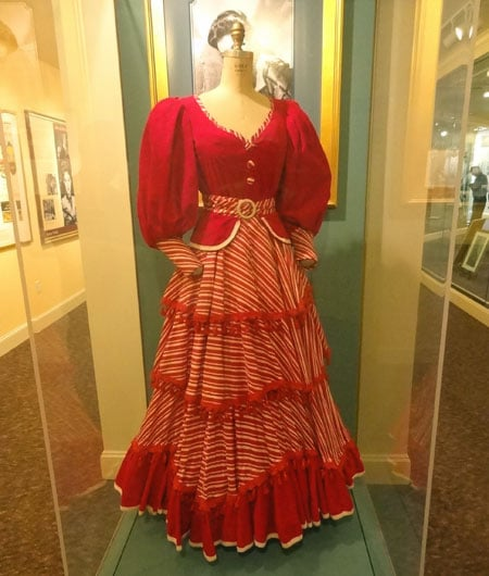 ava gardner show boat dress