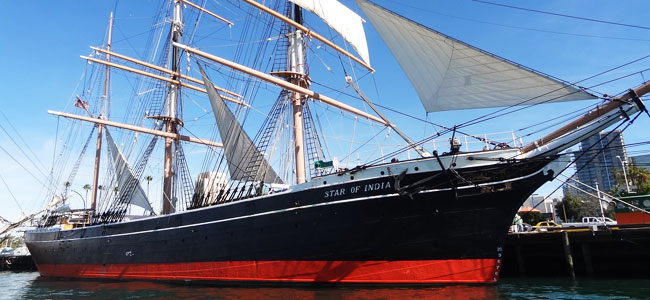 Step aboard an active 150-year-old ship at the San Diego Maritime Museum