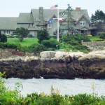 bush family summer vacation compound