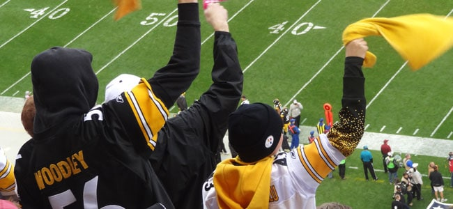 Here we go, Steelers!