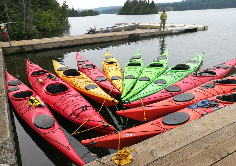kayaking isle royale park