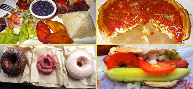 Chicago food: deep dish, donuts, hot dogs & more