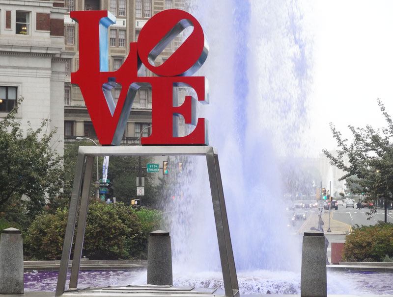 love sign philadelphia - funny valentine's day stories