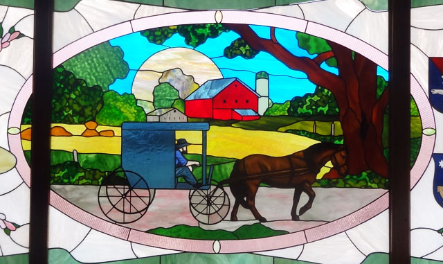 amish glass