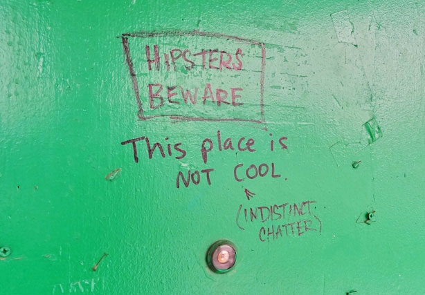 hipsters beware