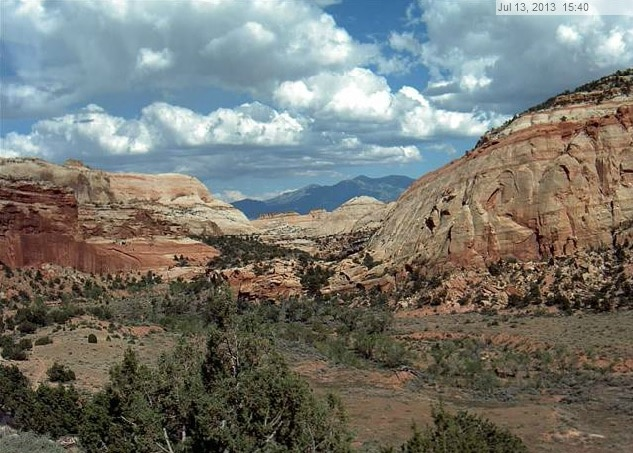 capital reef webcam