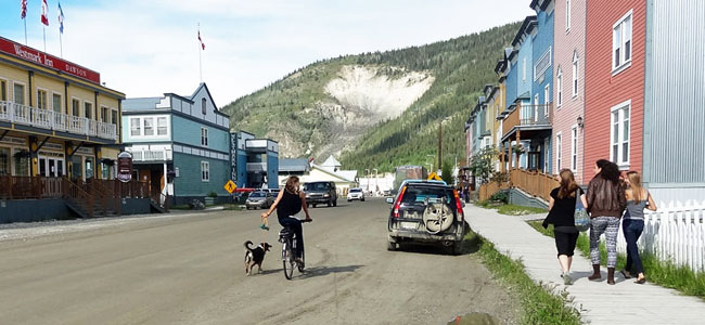 I freaking love Dawson City