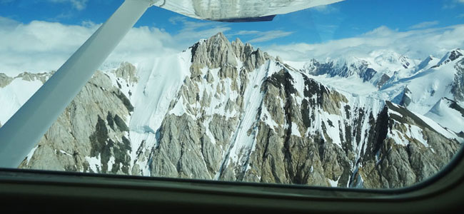 Flightseeing in Kluane National Park