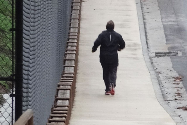 patton oswalt silver lake celeb jogging