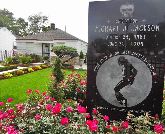 michael jacksons birth home