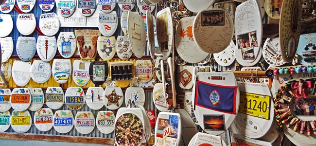 Quirky Attraction: The Toilet Seat Art Museum