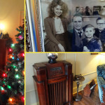 christmas story house collage