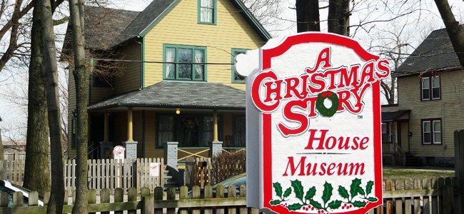 Quirky Attraction: A Christmas Story House