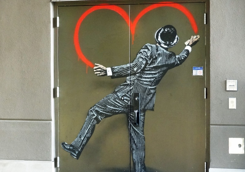 heart art doors