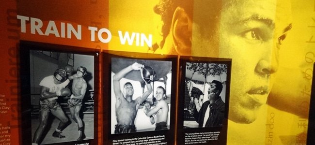 Inside the Muhammad Ali Center in Louisville