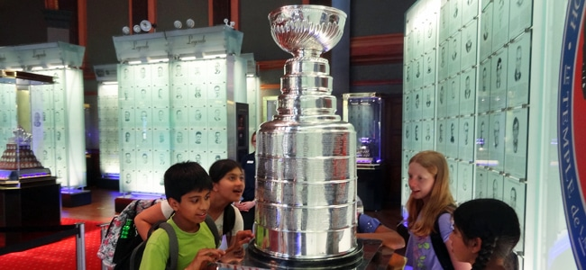 Witness sports history up close at the Hockey Hall of Fame