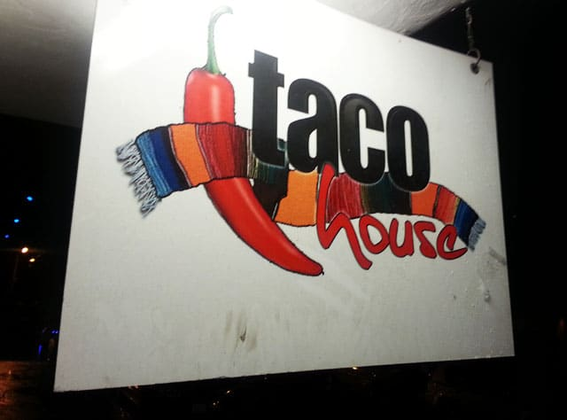 taco house - puerto vallarta on a budget