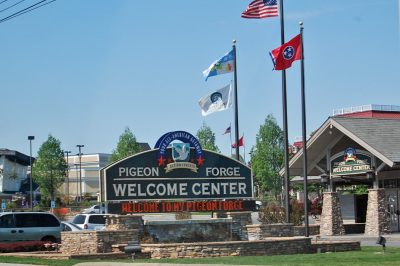 pigeon forge welcome