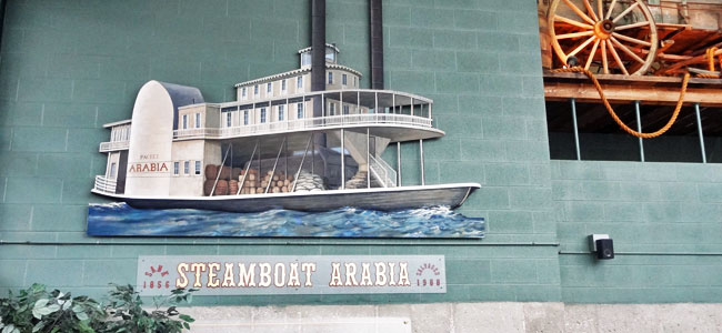 Quirky Attraction: Arabia Steamboat Museum