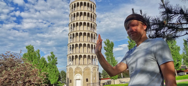 Quirky Attraction: The Leaning Tower of Niles